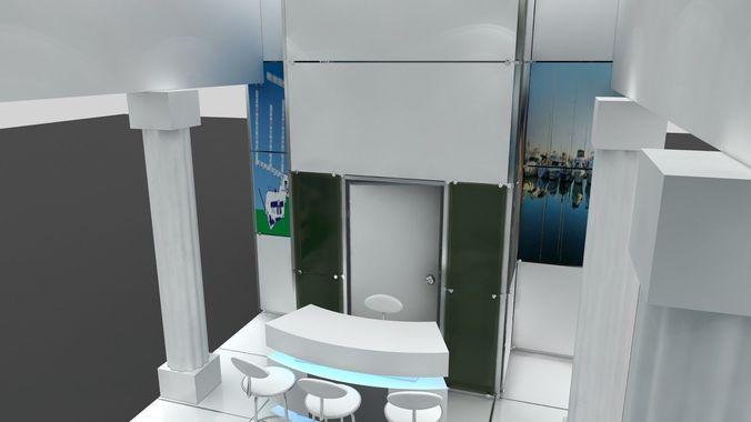 exhibition 2011 3d model  1