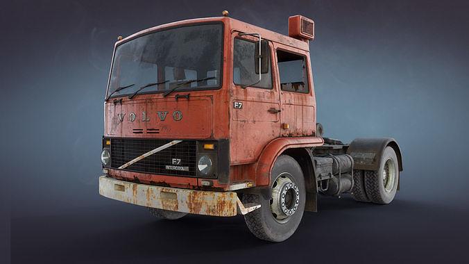Volvo F717 Rusty