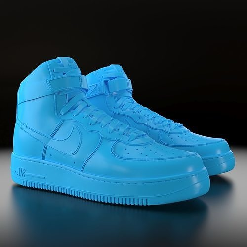 Nike Air Force 1 High | 3D Print Model