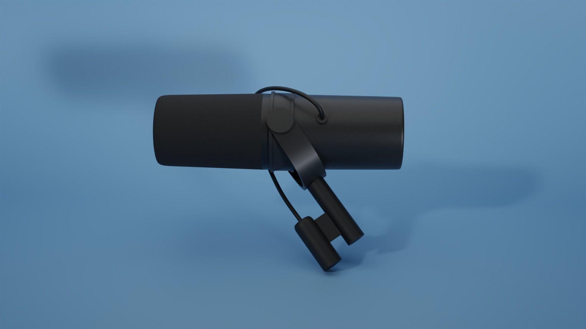 Shure SM7B cool Microphone