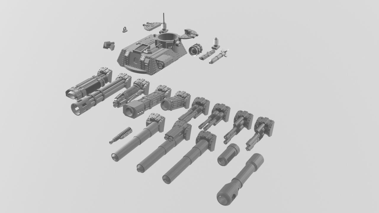 LR Cruising turret