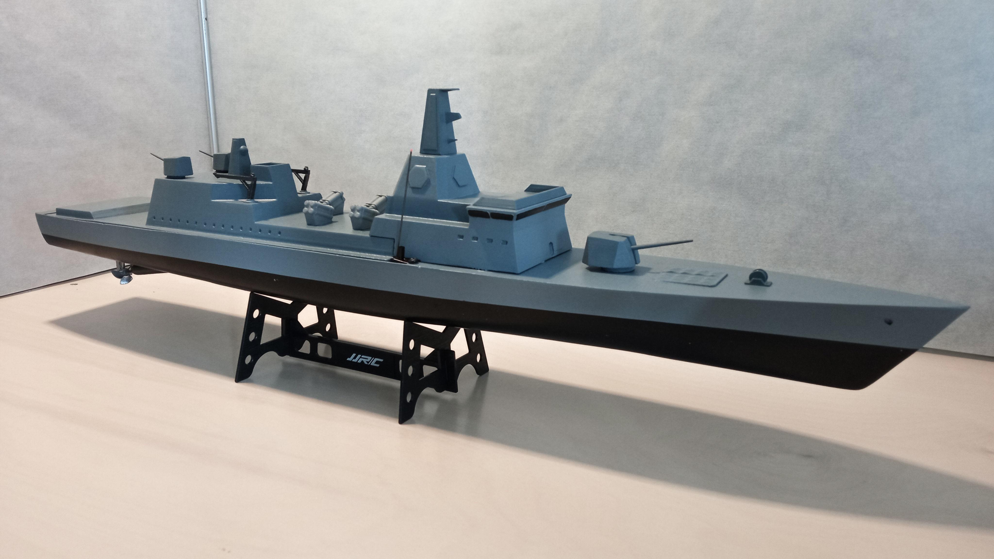 Cruiser - 3D print warship