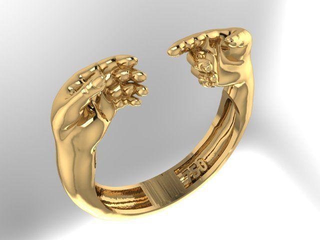 comrade hands Ring