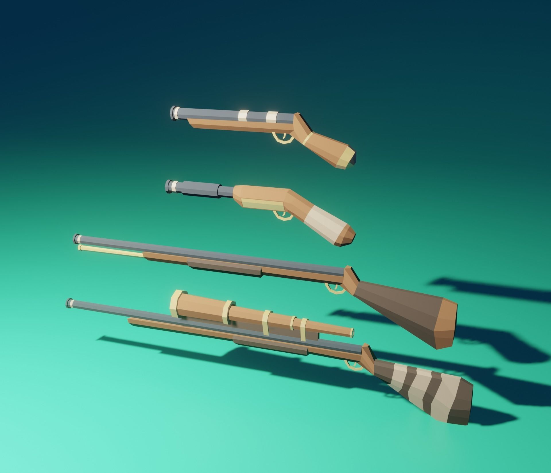 pirate weapon pack