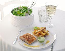 Classic Salmon Dinner 3D model