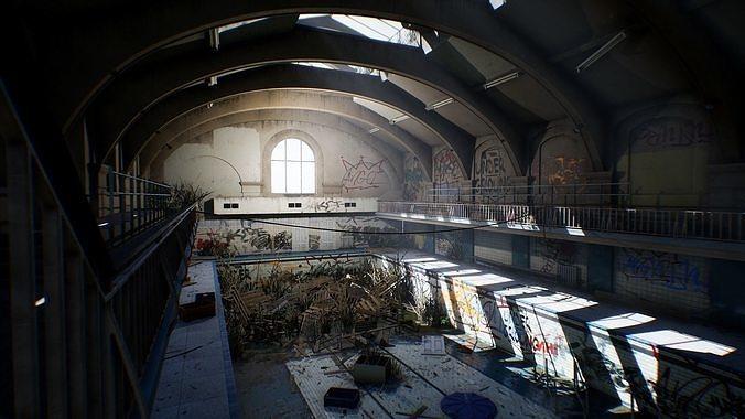City abandoned pool