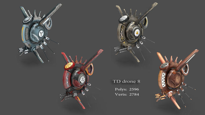 tower defense pack 3d model low-poly max obj fbx mtl tga 11
