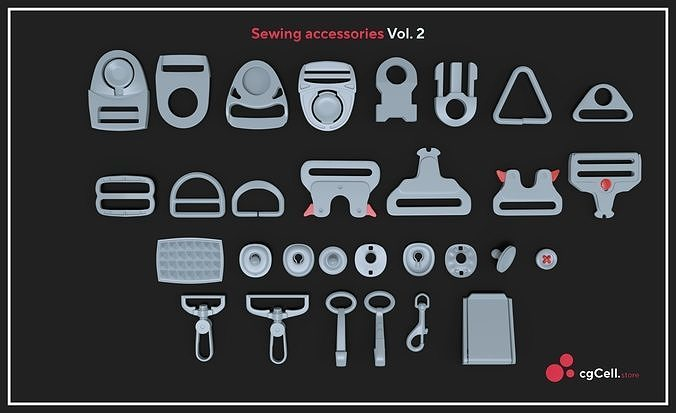Sewing accessories Vol 02