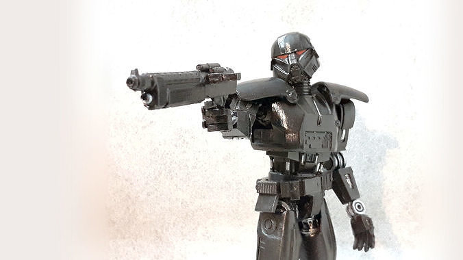 Star Wars Dark Trooper articulated action figure