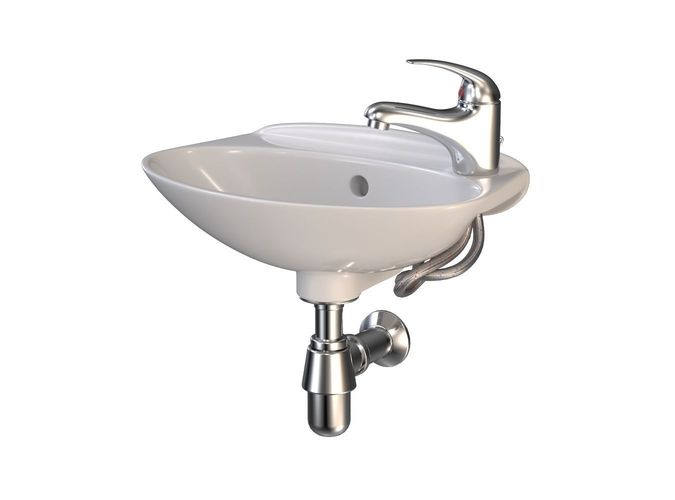 Bathroom sink 3d model max obj fbx stl for 3d bathroom models