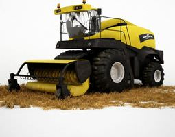Tractor Harvester 3D
