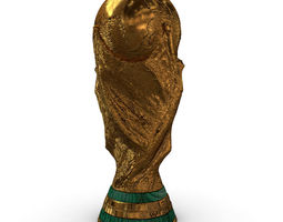 3D FIFA World Cup Trophy