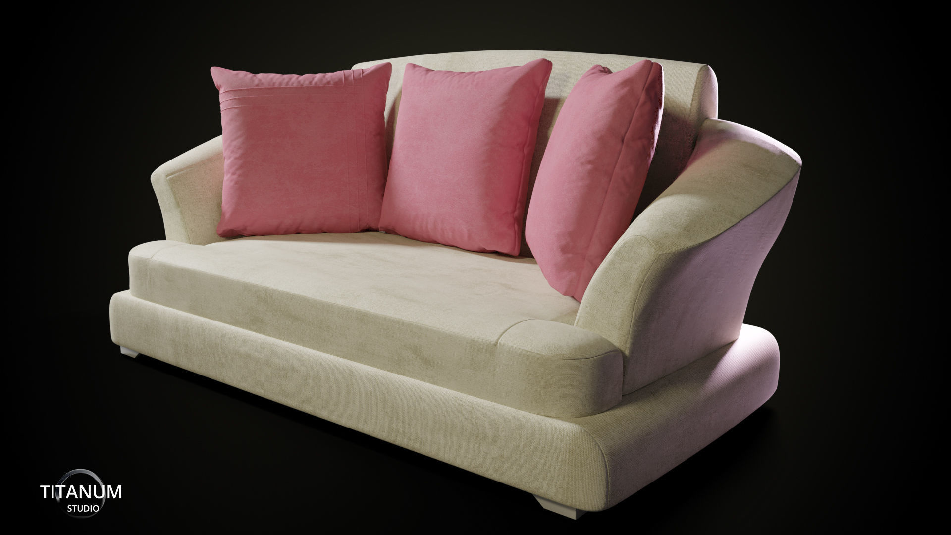 living-room Sofa set 3D model | CGTrader