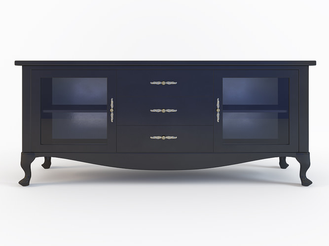 Czarna komoda design kod KG 20