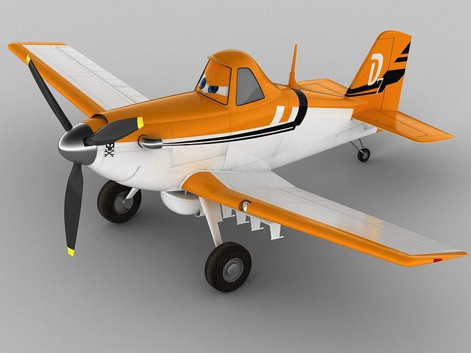 dusty crophopper 3d model max obj mtl 3ds fbx c4d lwo lw lws 1
