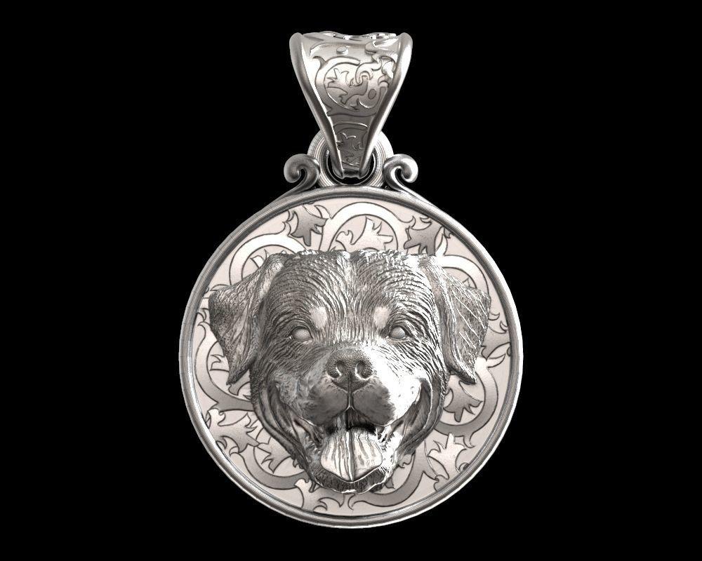 Dog Rottweiler pendant