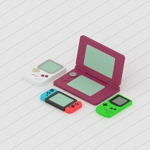 Nintendo Game Consoles Collection