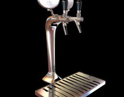 3D model Commercial Beer Tap