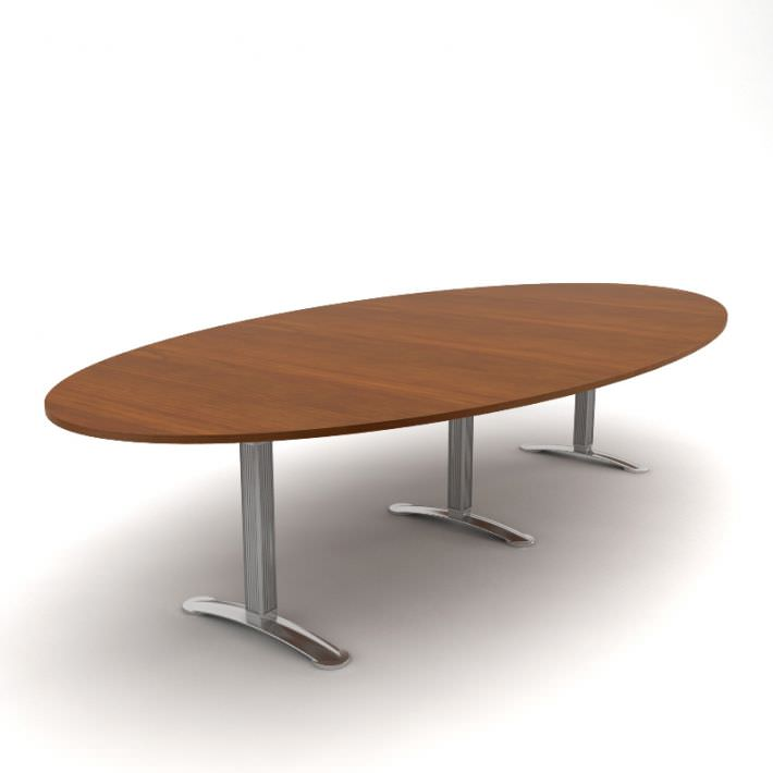 Oval Office Table 3D model CGTrader