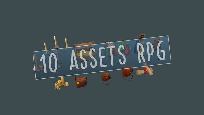 RPG BUNDLE - 10 ASSETS ITENS for a Rpg Adventure