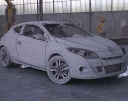 renault megane coupe 3d