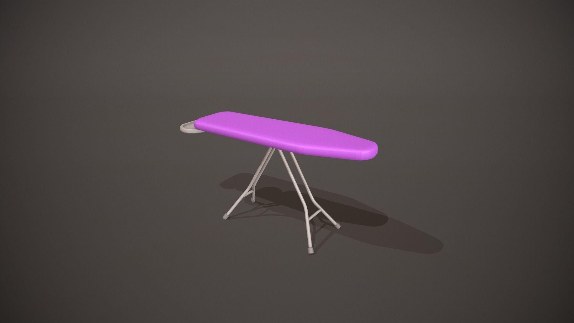 Purple Ironing Board