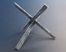 Iron Rails 3D model