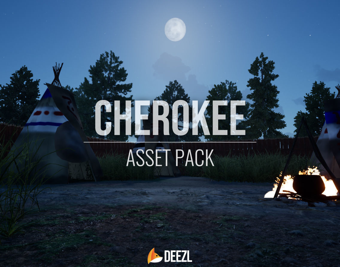 Cherokee - Asset Pack - All Formats