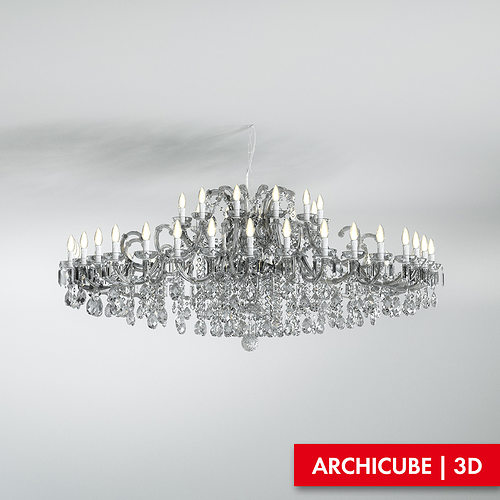 ceiling lamp 3d model max obj mtl fbx 1