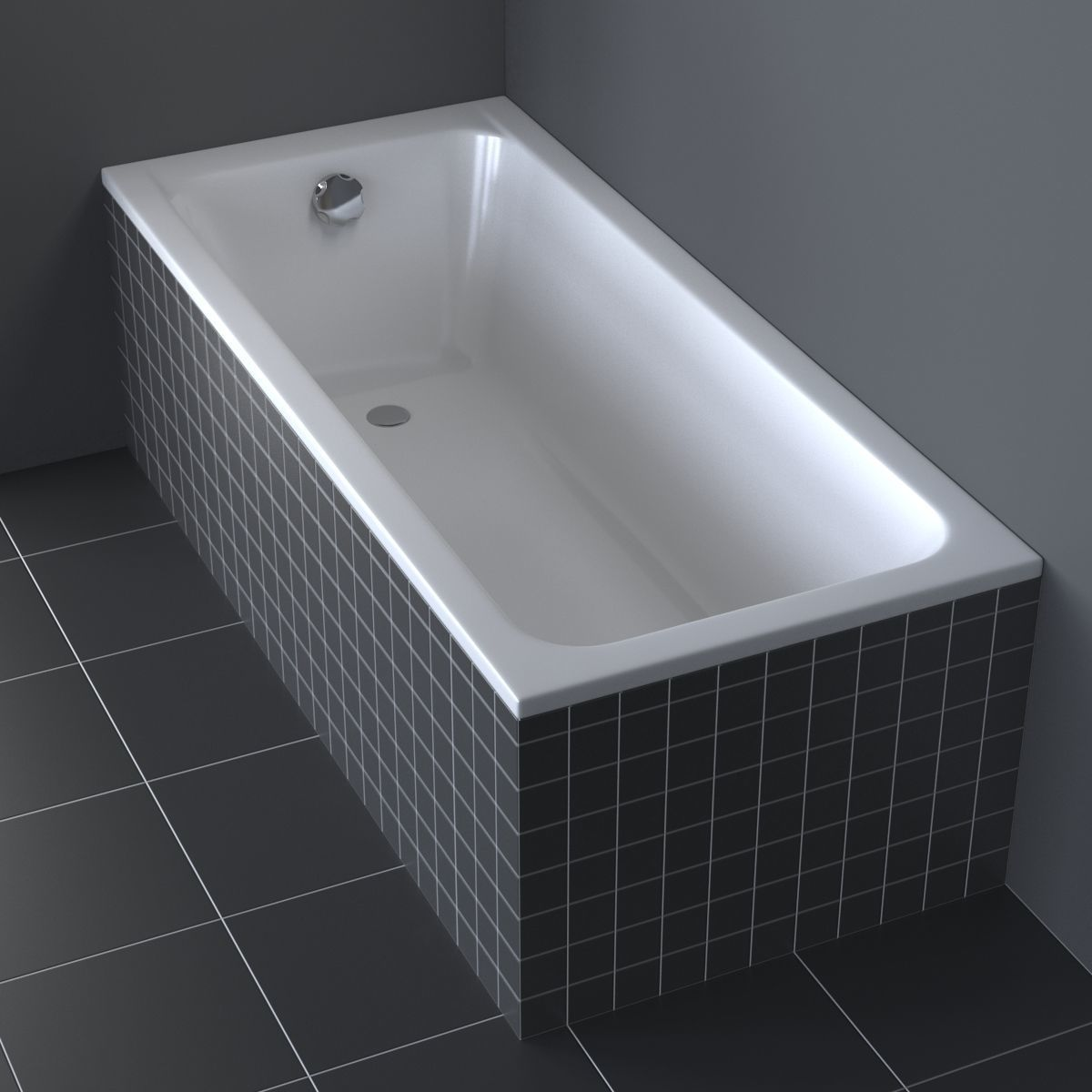 Duravit D-Code Bathtub