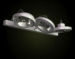 3D Three Led Lights