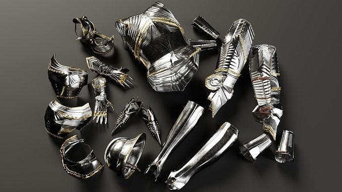 Highly Detailed Gothic Armor