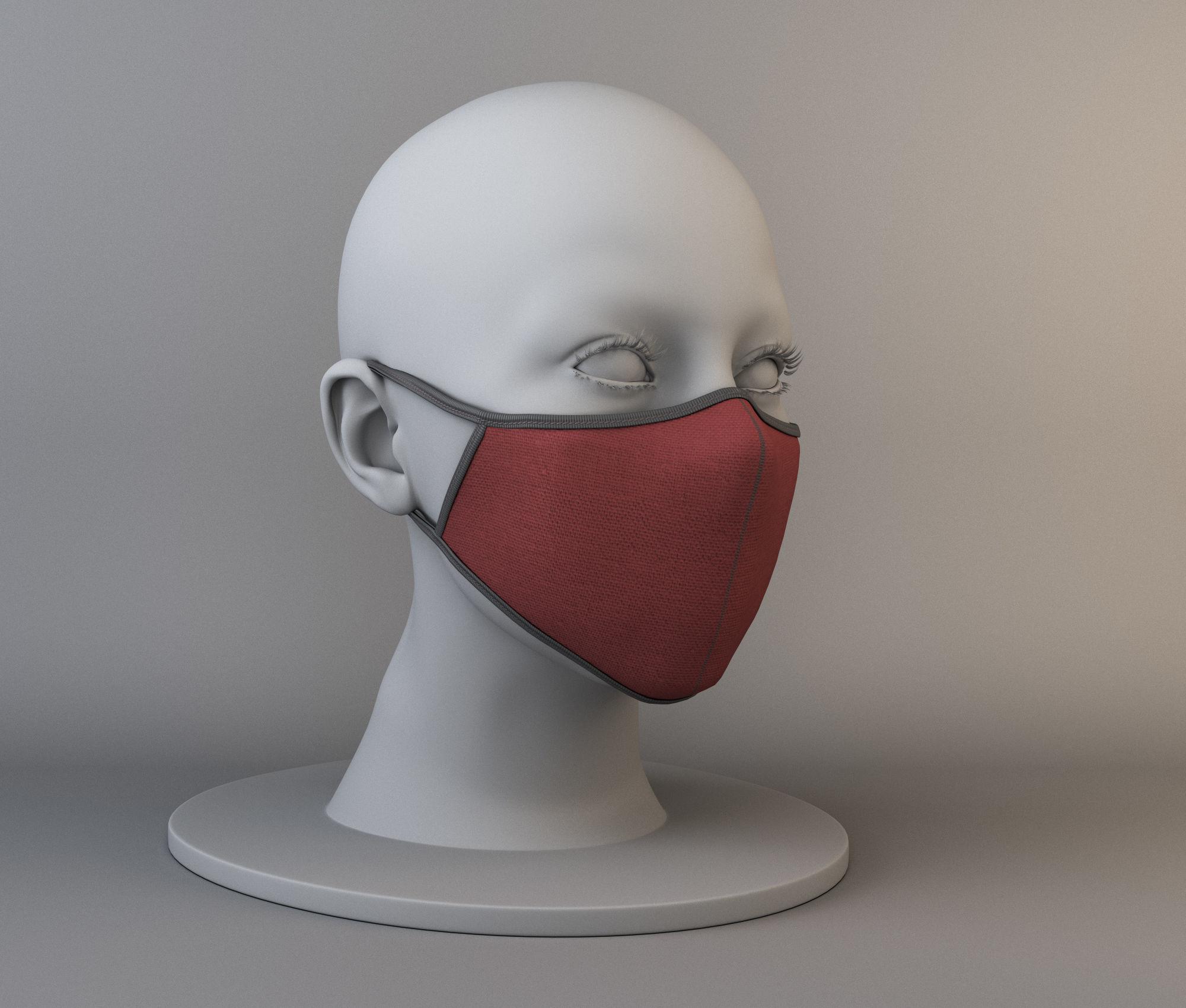 Reusable medical mask