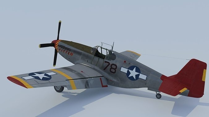 P-51C Mustang Tuskegee