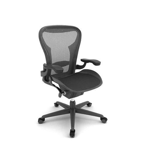 Black Modern Office Chair 3d Model Cgtrader