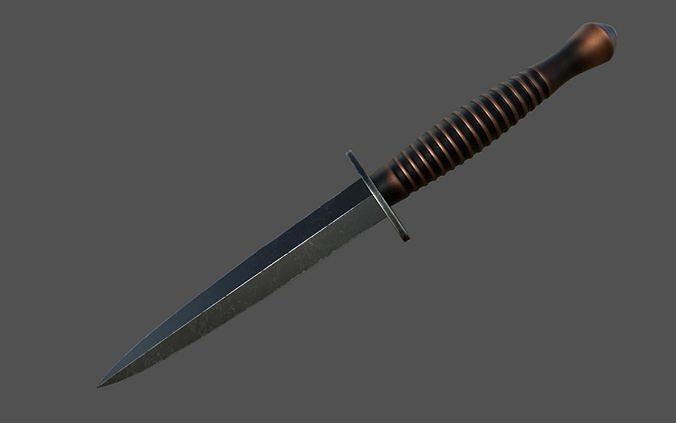 Fairbairn Sykes fighting knife