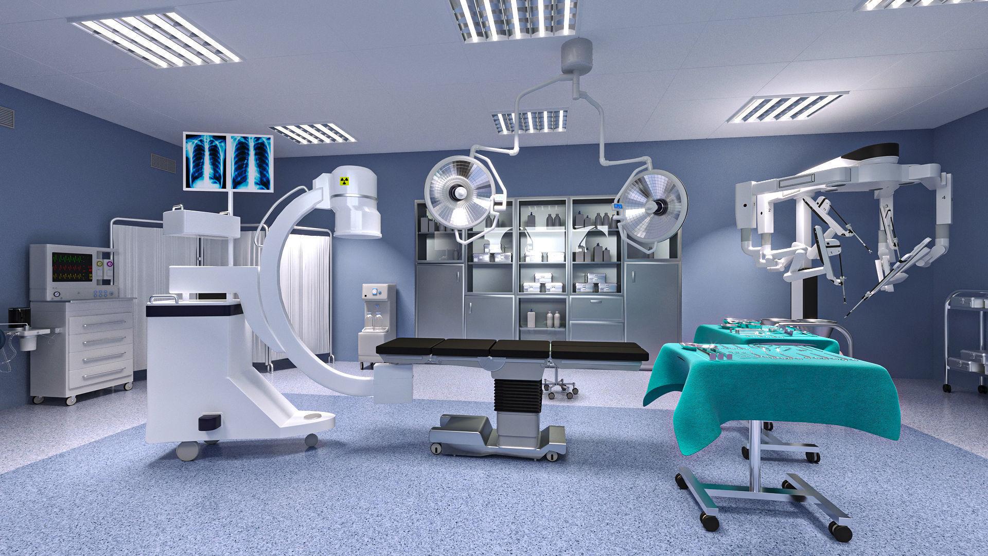 Operating Room 3D model