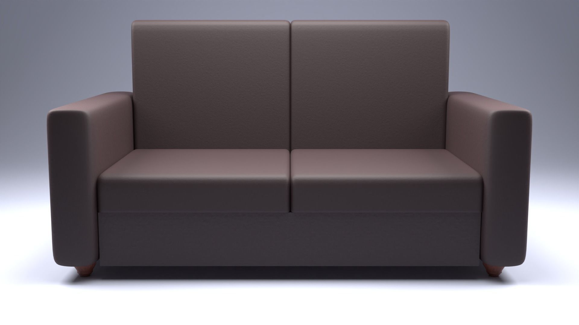3D model Sofa Set with PBR Textures 4 | CGTrader
