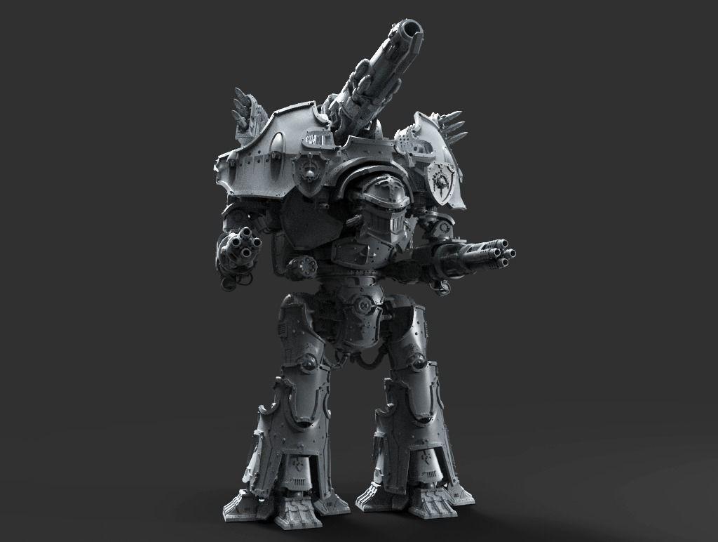 Strife Herald Robot