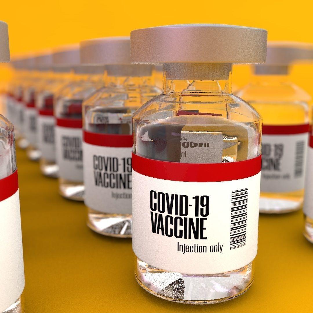 Covid-19 vaccine bottle