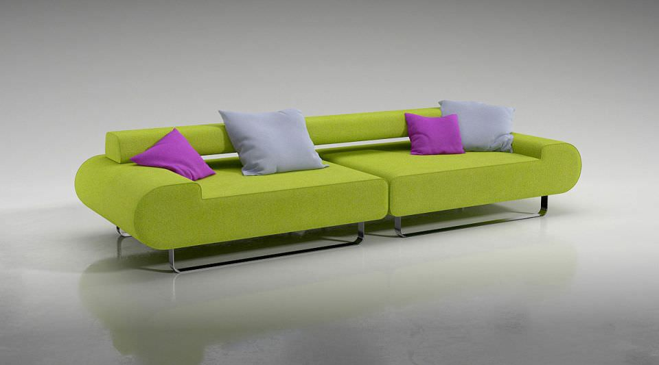 Lime Green Couch Home Design