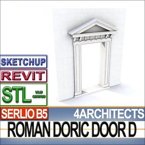 Renaissance Doric Door D Revit STL Printable 3D model 3D printable OBJ 3DS C4D DXF STL VUE  sc 1 st  CGTrader & Renaissance Doric Door D Revit STL Printable 3D model 3D printable ...
