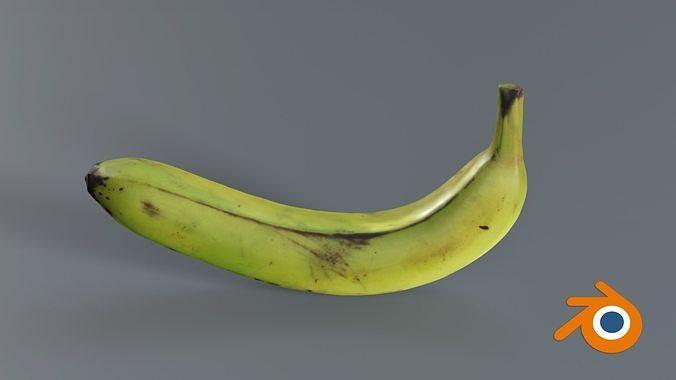 Fresh Banana photogrammetry