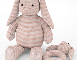 3D toy Bunny