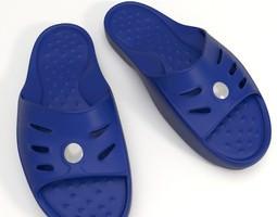 shower slippers 3d