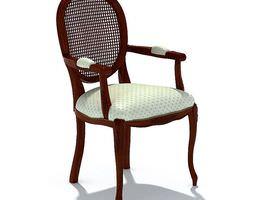 3D model Dinning Room Chair