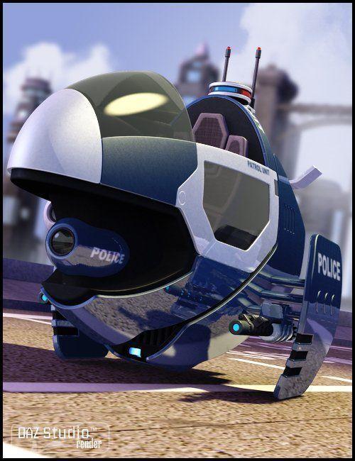 Interceptor Hover Bike