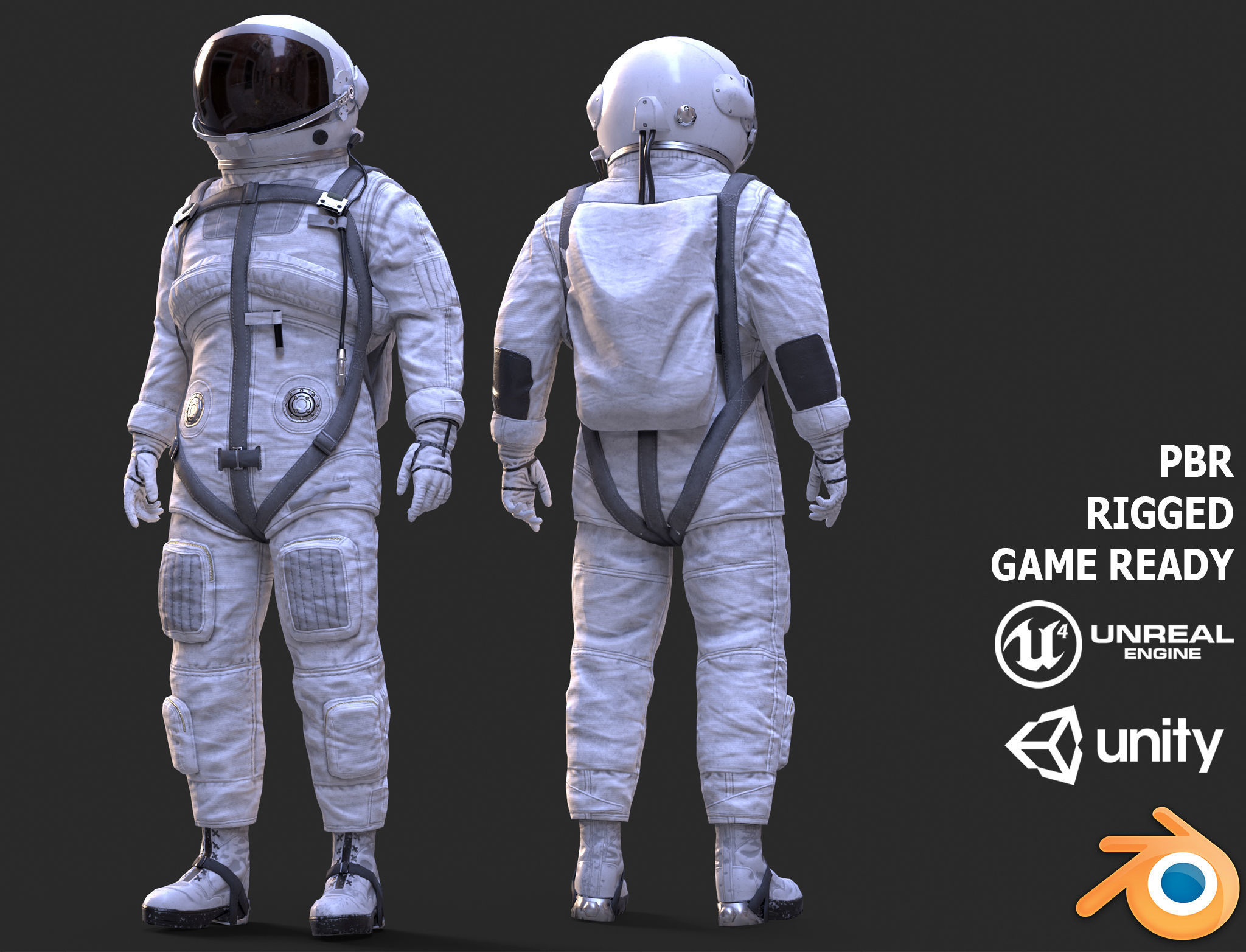 CS01 Space Suit LITE VERSION