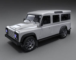 3D model Land Rover Defender