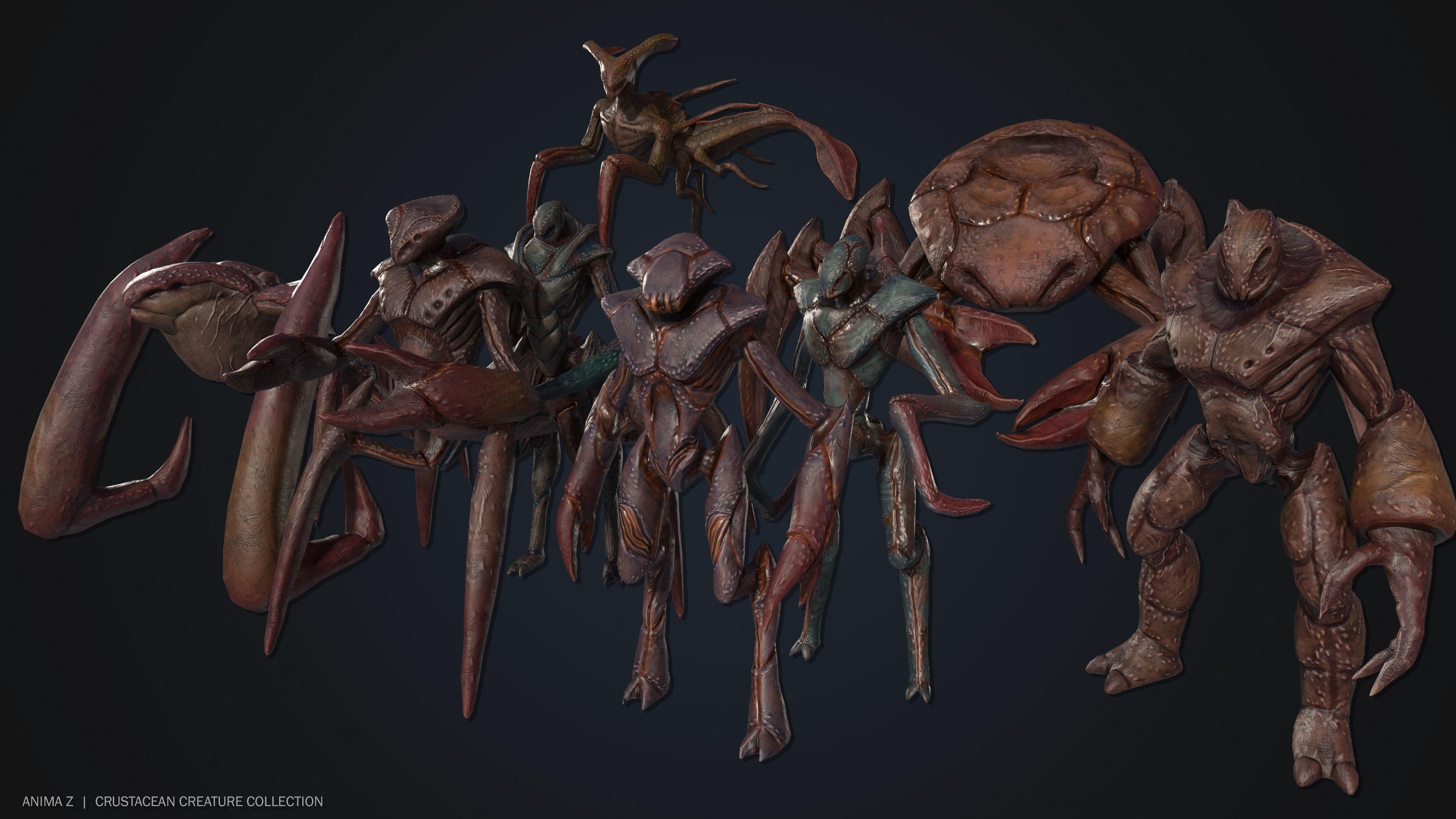 Crustacean creature collection